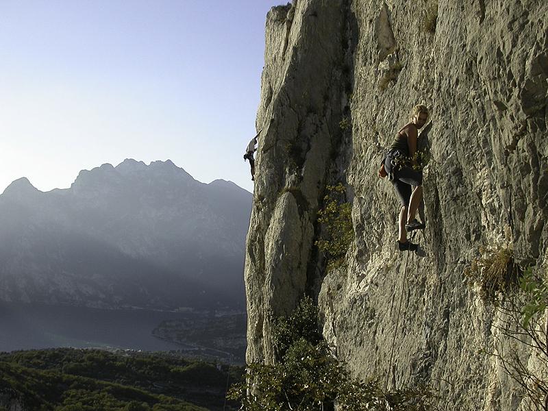 Lezení na skalách - horský vůdce Pavel Žofka